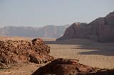 Wüste Wadi Rum, Jordanien - 238708041