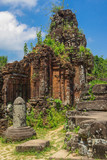 ruins of the ancient city of Vietnam