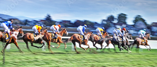 Horse Racers © nupho