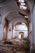 Old abandoned church in Navarra Spain