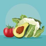 fresh vegetables food - 238741836