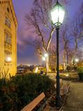 Zagreb Park Gric bei Nacht