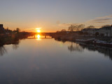 coucher de soleil sur la loire - 238814467
