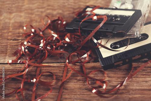 cassettes retro tape