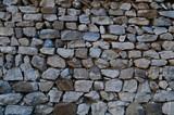 Brick and stone walls