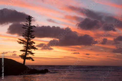 Sunset at Emily Bay - Norfolk Island