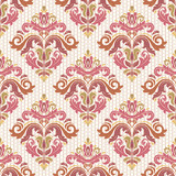Classic seamless vector pattern. Damask orient colorful ornament. Classic vintage background. Orient ornament for fabric, wallpaper and packaging - 238890806