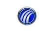 a 3d round business logo