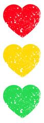 Traffic light with hearts © KYNA STUDIO