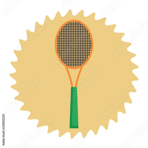 sport racket cartoon
