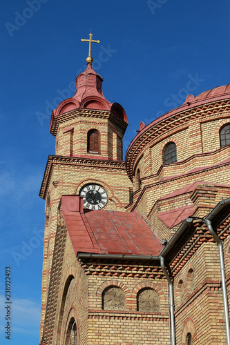 Fragment of the building of the Romanian Orthodox Church - 238922493