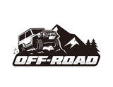 Off road logo template