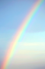 real rainbow after the storm and the blue sky © ChiccoDodiFC
