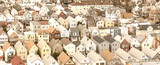 Houses of New York City, small homes in the countryside - 238933430