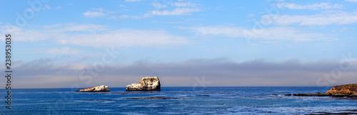 canvas print picture Piedras Blancas an der kalifornischen Pazifikküste