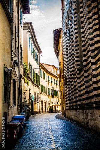 Narrow streets in Florence - 239021421