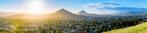 Bright Afternoon, San Luis Obispo Panorama  - 239061497