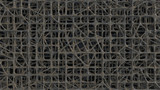 3D Render of Abstract Chaotic Elements