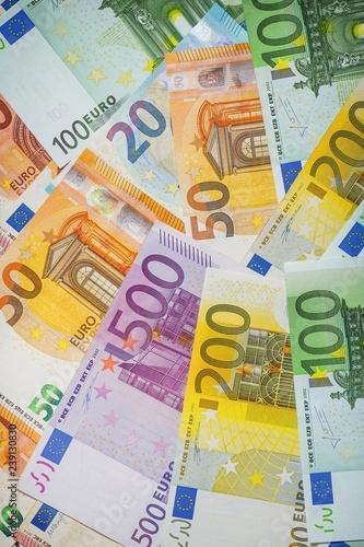 Background of euro Money . Euro cash background. - 239130830