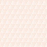 Geometric pattern with light pink triangles. Geometric modern ornament. Seamless abstract background - 239174469