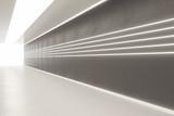 Clean corridor interior © peshkov