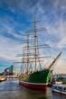 Leinwanddruck Bild - Hamburg, Hafen