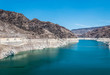 Lake Mead in Nevada and Arizona. Recreation and water tourism area in the southwest of the USA