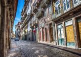 Porto Cobblestone Street, Portugal