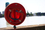 Life Buoy by River - 239357681