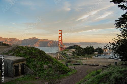 mata magnetyczna Sunrise at The Golden Gate