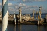 Ruins on the sea