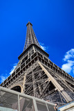 The iconic Eiffel Tower on the Champ de Mars in Paris, France © Euskera Photography