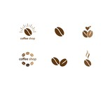 Coffee Beans Logo Template