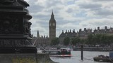 A view of the Big Ben and London riverside. - 239438668
