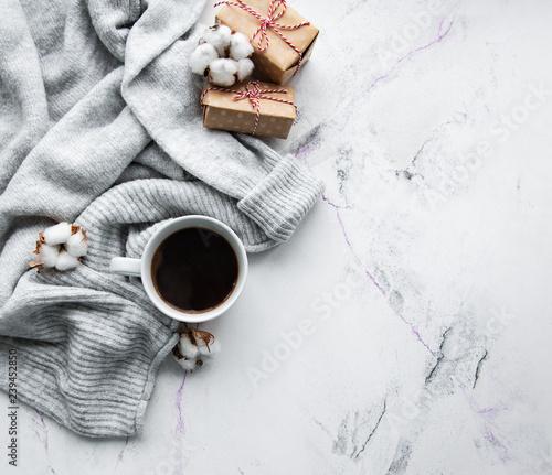 Cozy winter concept