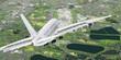 Landeanflug eines Passagierflugzeuges auf London Airport