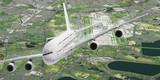 Start eines Passagierflugzeuges vom London Airport