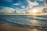 Colorful dawn over the sea © javarman