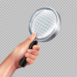 Magnifying Glass Hand Realistic
