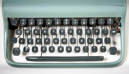 vintage typewriter keyboard © MIGUEL GARCIA SAAVED