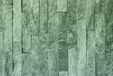 design vintage blue natural quartzite stone bricks texture for use as background.