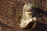 Ancient Lion Statue - Fontebranda Siena Italy