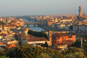 Cityscape of Florence, Italy © StockphotoVideo