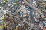 Aerial view of Southwark Street in London © mkos83
