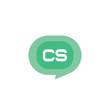 Initial Letter Logo CS Template Vector Design - 239761690