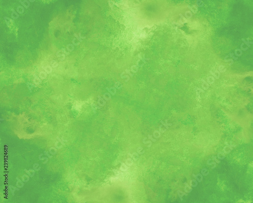 mata magnetyczna Green watercolor background. by drawing