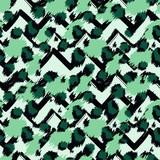 Leopard seamless pattern. Tiger skin print. Animal background. Vector illustration - 239827891