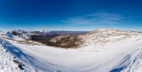 Beautiful panoramic view on one of the mountain plateaus - 239861838