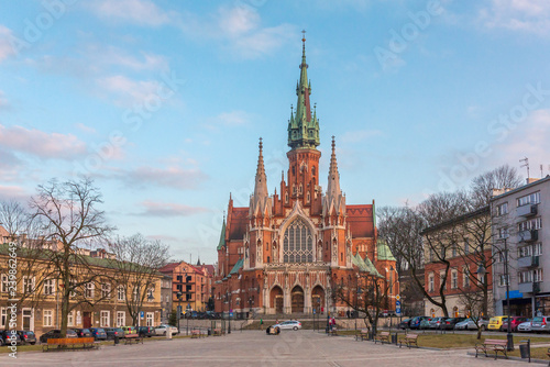 St Joseph Church - a historic Roman Catholic church in south-central part of Krakow, Poland