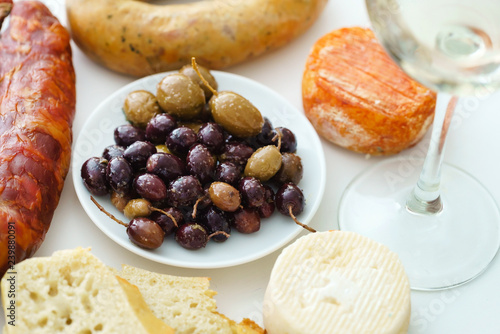 Portuguese appetizers on the table - 239880091